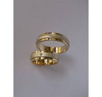 Gold wedding rings Berg