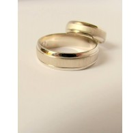 Wedding Rings Classic 02 white gold