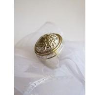 Silver ring Gorgona