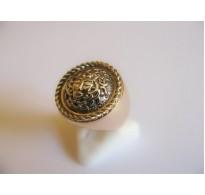 Gold ring Gorgona +
