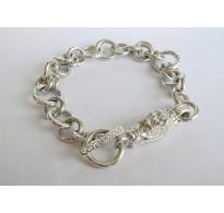 Silver bracelet Dragon
