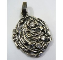 Silver pendant  Surreal